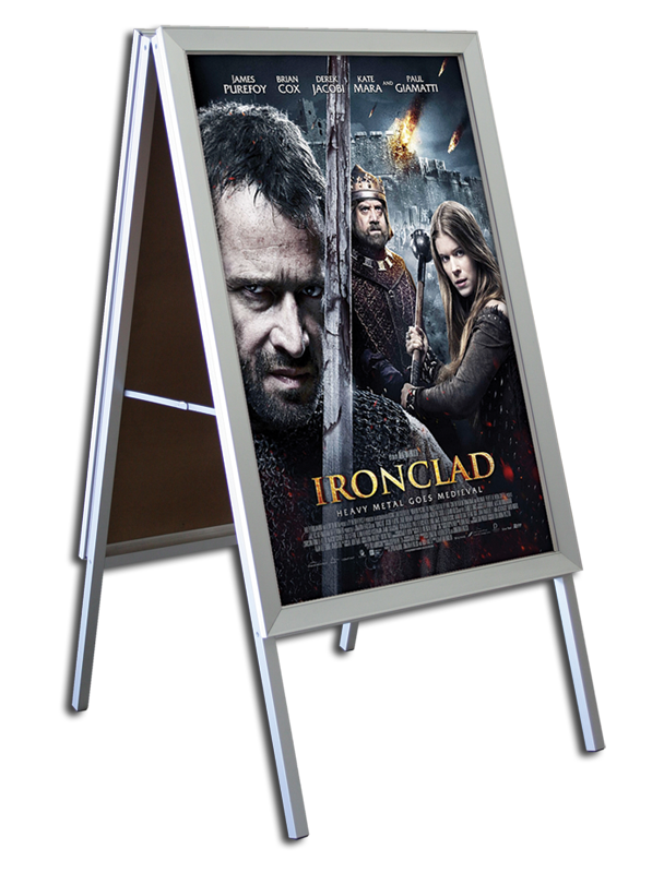 A Frame 187 Freestanding Frames 187 Movie Theater Displays