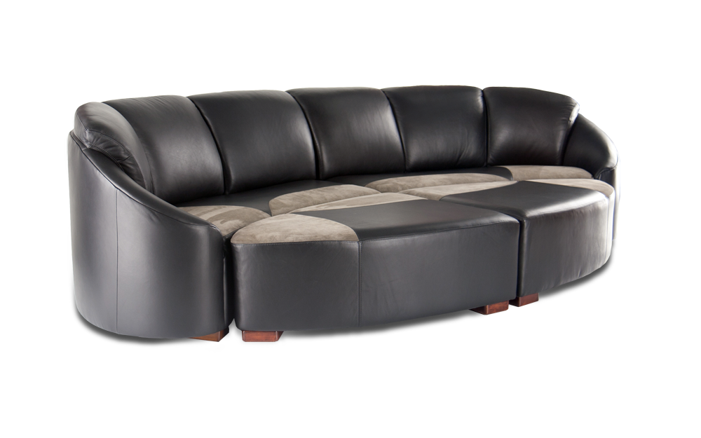 Embrace luxury sofas media room sofas multimedia for Furniture for media room