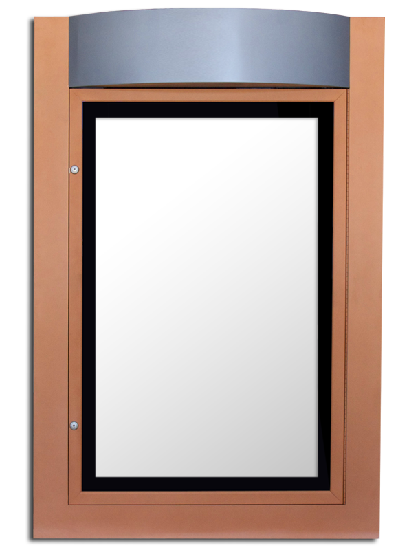 ETS-21 CONTEMPO MAJESTIC lockable lightbox