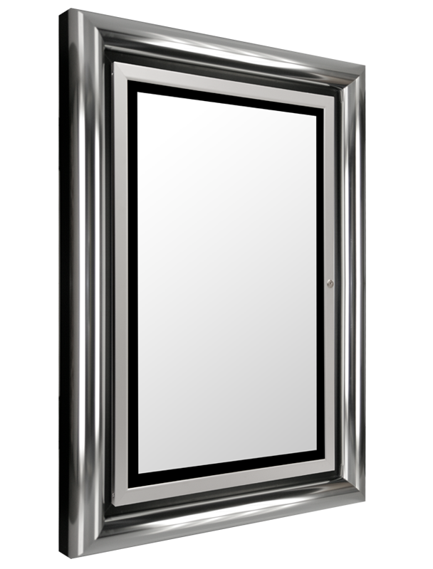 ETS-32 BULLNOSE SERIES lockable lightbox